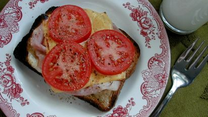 Hot Open Faced Sandwich Recipe Food Com
