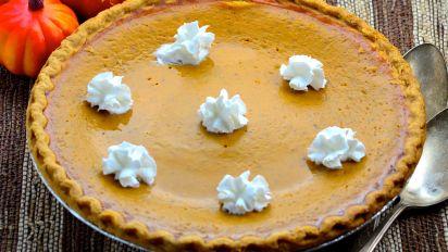 Thanksgiving Pumpkin Pie Uses Fresh Pumpkin Recipe Food Com