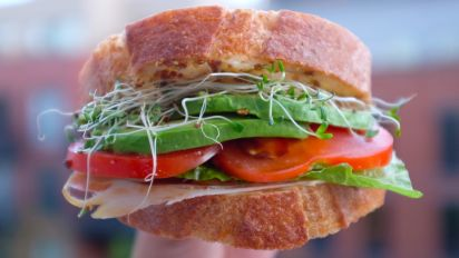 Tomato Cheese And Avocado Sandwich Recipe Food Com