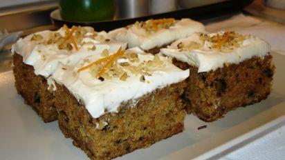 Buttermilk Glazed Carrot Cake Recipe Food Com