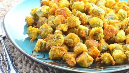 Fried Okra Recipe Food Com