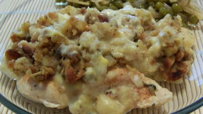 Chicken Stuffing Bake Recipe Food Com