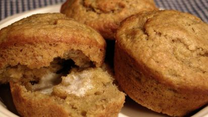 Quick Oat Bran And Banana Muffins