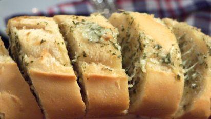 Cheesy Garlic Bread Recipe Food Com