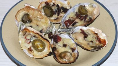 Bacon and Cheese Oysters