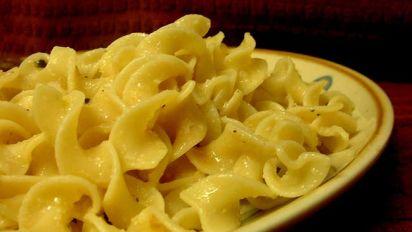 Hot Buttered Garlic Noodles Recipe Food Com