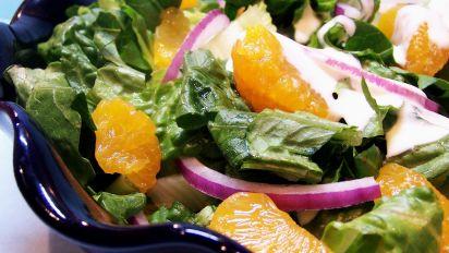 Tossed Salad With Mandarin Oranges Recipe Australian Food Com