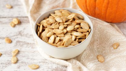 Roasted Pumpkin Seeds Recipe Food Com