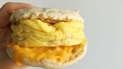 Easy Microwave Breakfast Sandwich