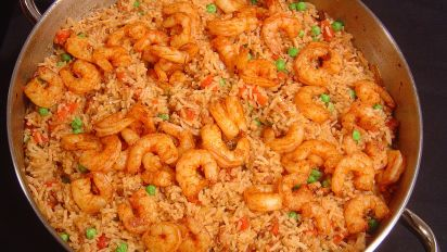 Skillet Shrimp and Rice