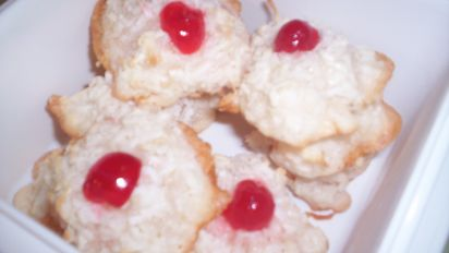 Yummiest Coconut Cookies Gluten Free