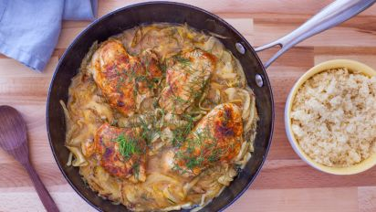 Moroccan Spiced Chicken and Fennel