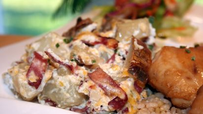 Twice Baked Potato Casserole Recipe Food Com