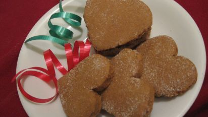 Diabetic Chewy Molasses Ginger Cookies