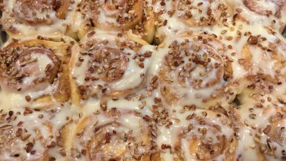 Super Fantastic Cinnamon Rolls Bread Machine Recipe Recipe Food Com