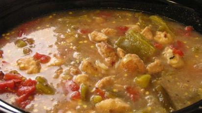Chris S Pueblo Green Chili Sauce Recipe Food Com