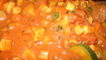 West African Groundnut Stew (Mafe)