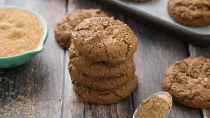 Vegan Ginger Cookies Recipe Food Com