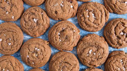 German Chocolate Toffee Cookies