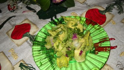 Avocado Salad With Hearts of Palm