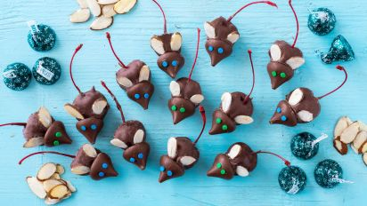 Chocolate Christmas Mice Or Anytime Mice