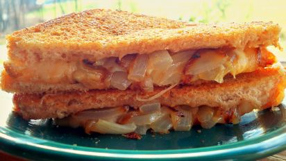 Awesome Grilled Cheese Sandwich