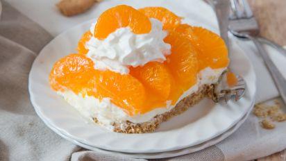 No Bake Mandarin Orange Cheese Cake