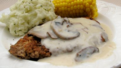 Chicken Fried Steak With Mushroom Gravy Recipe Food Com,What Do Pet Mice Eat