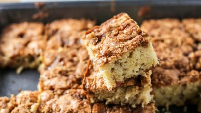 Rhubarb Coffee Cake Recipe Food Com