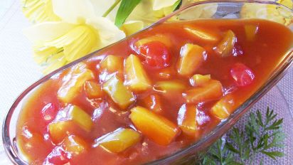 Lucky Sweet And Sour Sauce Recipe Food Com