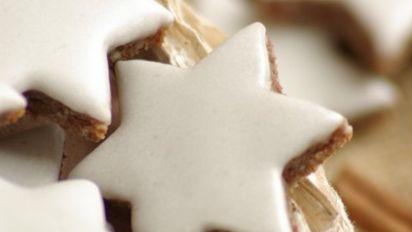 Zimtsterne Cinnamon Star Cookies