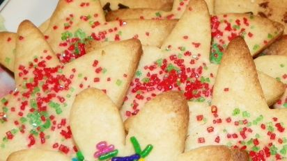 Christmas Cutout Cookies.The Best Christmas Sugar Cutout Cookies