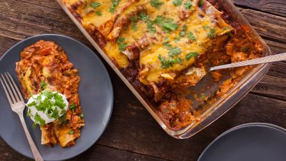 Leftover Turkey Enchiladas Recipe Food Com