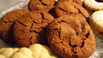 Swedish Ginger Cookies With Crystallized Ginger Recipe Food Com