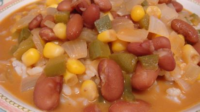 Nigerian Kidney Bean Stew With A Peanut Sauce Recipe Food Com