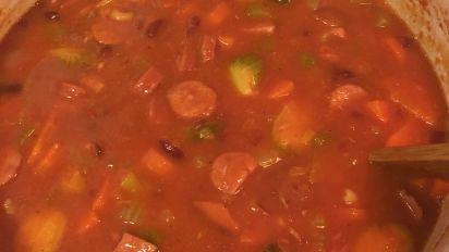 Punahou Portuguese Bean Soup