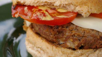 Mozzarella Beef Burgers Recipe Food Com