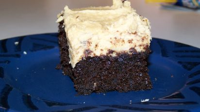 Jim Bobs Chocolate Molasses Cake