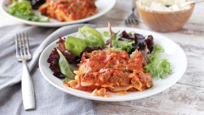 Easy Lasagna No Ricotta