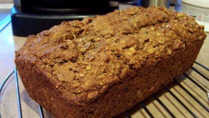 Healthy Date Walnut Fruit Loaf No Butter Oil Egg Recipe Food Com