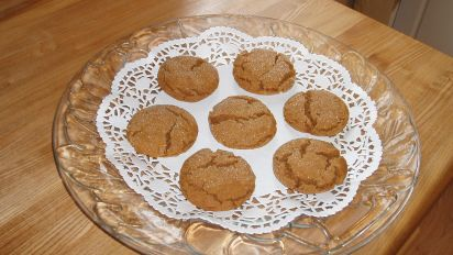 Grandma S Molasses Christmas Crinkles