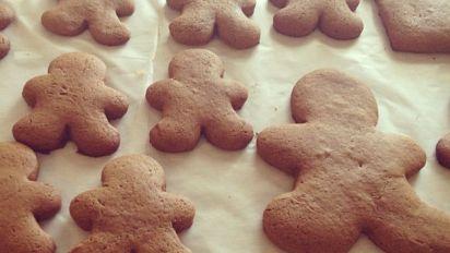Vegan Gingerbread Cut Out Cookies