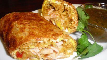 Breakfast Burrito Sandwich Maker