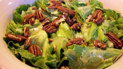 Escarole Salad With Champagne Vinaigrette Recipe Food Com