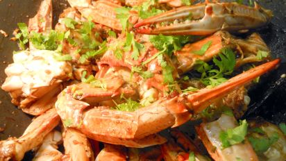 Asian Black Pepper Crab Recipe Food Com