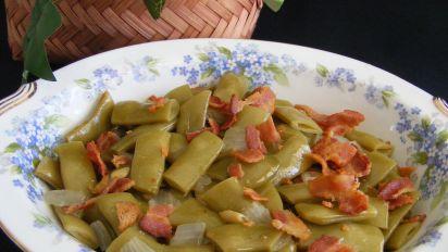 Italian Green Beans Recipe - Healthy