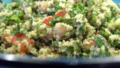 Tabouli Chickpea Couscous Salad