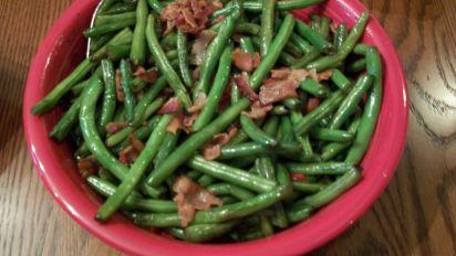 Thanksgiving Green Beans Recipe Food Com
