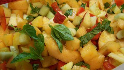 Mixed Fruit Vegetable Salad
