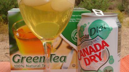 Green Tea Cocktail Non Alcoholic